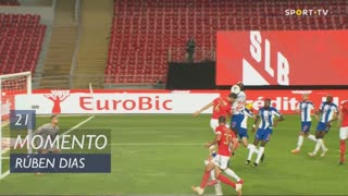 SL Benfica, Jogada, Rúben Dias aos 21'