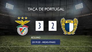Taça de Portugal (Meias-Finais): Resumo SL Benfica 3-2 FC Famalicão