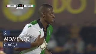 Sporting CP, Jogada, C. Borja aos 5'