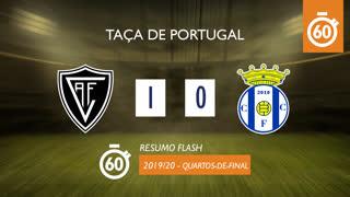 Taça de Portugal (Quartos de Final): Resumo Flash Ac. Viseu 1-0 Canelas 2010