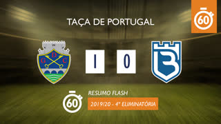 Taça de Portugal (4ª Eliminatória): Resumo Flash GD Chaves 1-0 Belenenses