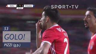 GOLO! SL Benfica, Pizzi aos 53', SL Benfica 1-0 FC Famalicão