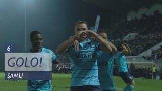 GOLO! Vizela, Samu aos 6', Vizela 1-0 SL Benfica