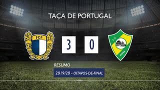Taça de Portugal (Oitavos de Final): Resumo FC Famalicão 3-0 CD Mafra