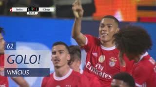 GOLO! SL Benfica, Vinícius aos 62', SL Benfica 2-1 SC Braga