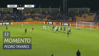 Coimbrões, Jogada, Pedro Tavares aos 53'