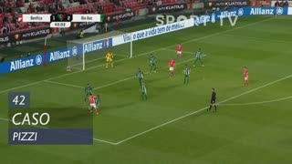 SL Benfica, Caso, Pizzi aos 42'