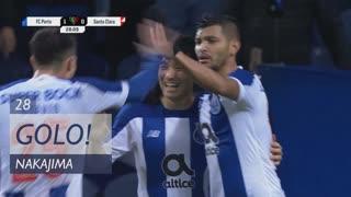 GOLO! FC Porto, Nakajima aos 28', FC Porto 1-0 Santa Clara