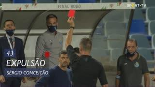 FC Porto, Expulsão, Sérgio aos 43'