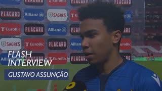 Taça de Portugal (Meias-Finais - 1ª Mão): Flash Interview Gustavo Assunção