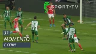 SL Benfica, Jogada, F. Cervi aos 37'