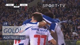 GOLO! FC Porto, Alex Telles aos 19', FC Porto 1-0 Ac. Viseu