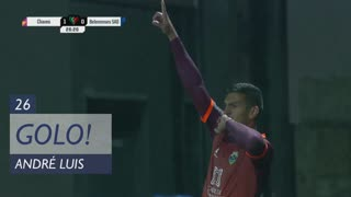 GOLO! GD Chaves, André Luis aos 26', GD Chaves 1-0 Belenenses