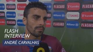 Taça de Portugal (3ª Eliminatória): Flash Interview André Carvalhas