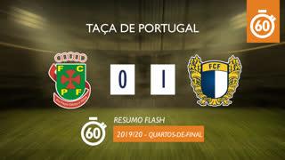 Taça de Portugal (Quartos de Final): Resumo Flash FC P.Ferreira 0-1 FC Famalicão