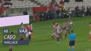 SC Braga, Caso, Wallace aos 48'