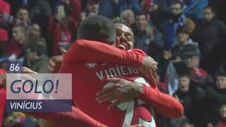 GOLO! SL Benfica, Vinícius aos 86', Vizela 1-2 SL Benfica