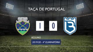 Taça de Portugal (4ª Eliminatória): Resumo GD Chaves 1-0 Belenenses SAD