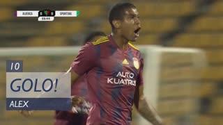 GOLO! Alverca, Alex aos 10', Alverca 1-0 Sporting CP