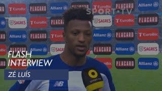 Taça de Portugal (Meias-Finais - 2ª Mão): Flash Interview Zé Luís