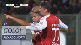 GOLO! SC Braga, Ricardo Horta aos 42', Leça 0-2 SC Braga