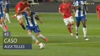 FC Porto, Caso, Alex Telles aos 45'