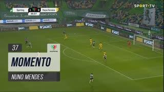 Sporting CP, Jogada, Nuno Mendes aos 37'