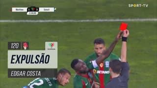 Marítimo M., Expulsão, Edgar Costa aos 120'