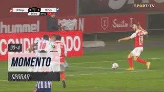 SC Braga, Jogada, Sporar aos 90'+4'