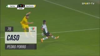 Sporting CP, Caso, Pedro Porro aos 78'