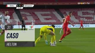 SL Benfica, Caso, Helton aos 31'