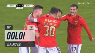 GOLO! SL Benfica, Seferovic aos 68', Estoril Praia 1-2 SL Benfica