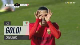 GOLO! SL Benfica, Chiquinho aos 42', E. Amadora 0-1 SL Benfica