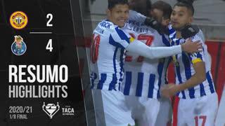 Taça Placard (Oitavos de Final): Resumo CD Nacional 2-4 FC Porto