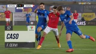 SL Benfica, Caso, F. Cervi aos 52'