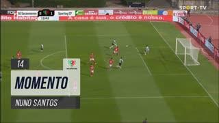 Sporting CP, Jogada, Nuno Santos aos 14'