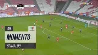 SL Benfica, Jogada, Grimaldo aos 49'