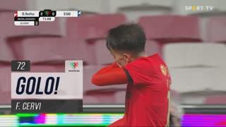 GOLO! SL Benfica, F. Cervi aos 72', SL Benfica 3-0 Belenenses SAD