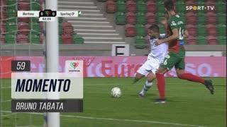 Sporting CP, Jogada, Bruno Tabata aos 59'