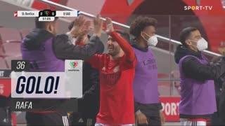 GOLO! SL Benfica, Rafa aos 36', SL Benfica 2-0 Belenenses SAD