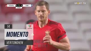 SL Benfica, Jogada, Vertonghen aos 14'