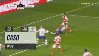 FC Porto, Caso, Pepe aos 35'