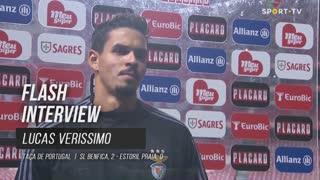 """Lucas Veríssimo: """"Merecemos a vitória"""""""