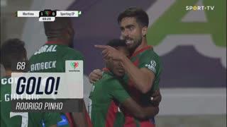 GOLO! Marítimo M., Rodrigo Pinho aos 68', Marítimo M. 1-0 Sporting CP