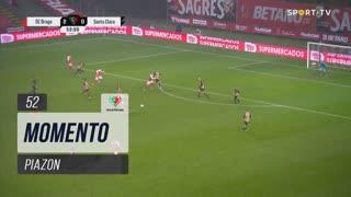 SC Braga, Jogada, Piazon aos 52'