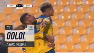 GOLO! Estoril Praia, André Vidigal aos 23', Estoril Praia 1-0 SL Benfica