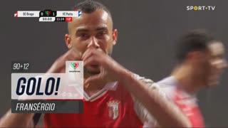 GOLO! SC Braga, Fransérgio aos 90'+12', SC Braga 1-1 FC Porto