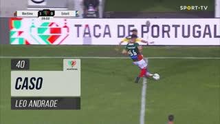 Marítimo M., Caso, Leo Andrade aos 40'