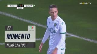 Sporting CP, Jogada, Nuno Santos aos 27'