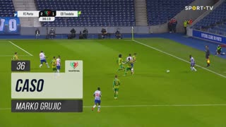 FC Porto, Caso, Marko Grujic aos 36'